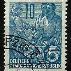 Sellos: ALEMANIA DDR 1957- YV 0315B. Lote 49631047