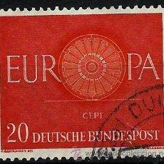 Sellos: ALEMANIA RF 1960-YV 0211 EUROPA CEPT. Lote 49856705