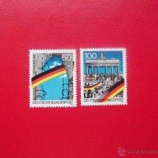Sellos: ALEMANIA FEDERAL 1990, MICHEL 1481-82, MNH-SC. Lote 222542210