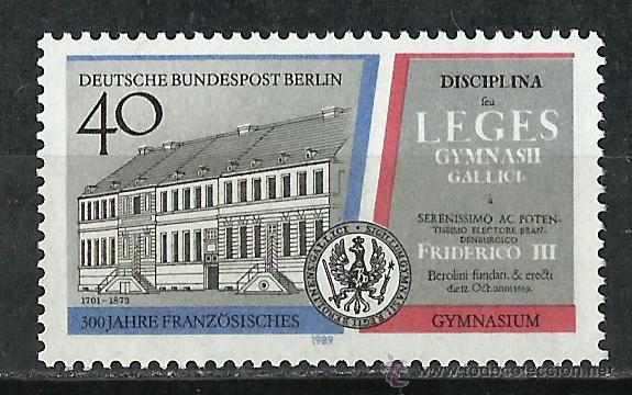 ALEMANIA (BERLIN) - 1989 - SCOTT 9N582 / MICHEL 856** MNH (Sellos - Extranjero - Europa - Alemania)