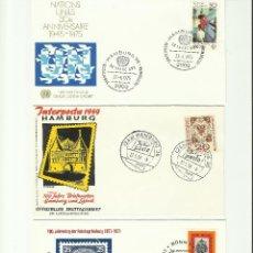 Sellos: LOTE DE SOBRES PRIMER DIA ALEMANIA.(Nº3). Lote 51584481