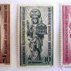 Sellos: SELLOS ALEMANIA 1955. BERLIN. NUEVOS.. Lote 52017291
