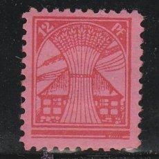 Sellos: MECKLEMBOURG - POMERANIE.1945-6 12 PF. ROJO SOBRE ROSA. **.MNH ( 21-282). Lote 52343617