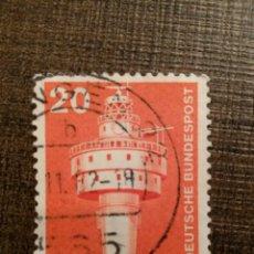 Sellos: SELLO ALEMANIA USADO / LEUCHTTURM #0324. Lote 52603681