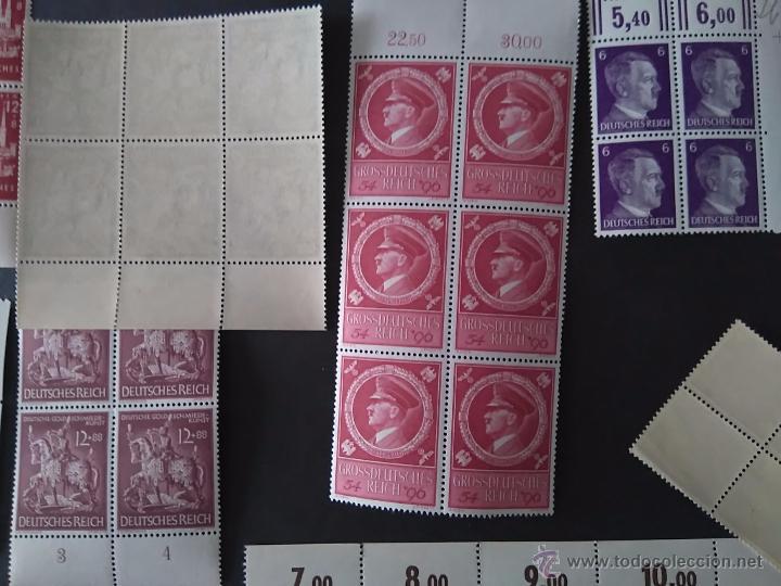 Sellos: Coleccion tercer reich alemania sellos nuevos goma intacta en bloque - Foto 2 - 53405964