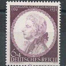 Sellos: R6/ ALEMANIA IMPERIO 1941, MICHEL 810, NUEVO** GOMA ORIGINAL. Lote 53962449