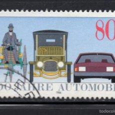 Sellos: ALEMANIA 1100 - AÑO 1986 - CENTENARIO DEL AUTOMOVIL. Lote 55732255