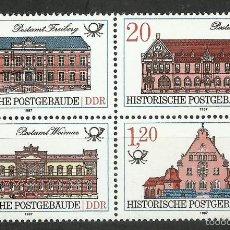 Sellos: ALEMANIA DDR - 1987 - MICHEL 3067/3070 // SCOTT 2583/2586** MNH. Lote 55916752