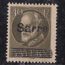 Sellos: ALEMANIA-SARRE 24 CON CHARNELA, SOBRECARGADO, . Lote 56629823