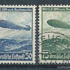 Sellos: R9/ ALEMANIA IMPERIO EN NUEVO* Y USADO (º) 1936, CAT. 606/07. Lote 57060483