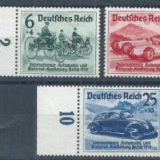 Sellos: R9/ ALEMANIA IMPERIO *, 1939, MICHEL 686/88, 2ª GUERRA MUNDIAL, SERIE COMPLETA. Lote 57133849