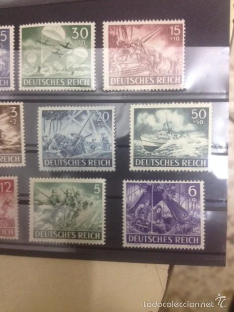 Sellos: sellos alemania nazi del tercer reich de hitler - Foto 2 - 57516293