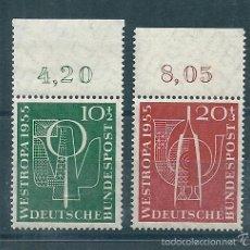 Sellos: ALEMANIA FEDERAL Nº 93/4 (YVERT) AÑO 1955.. Lote 57978224