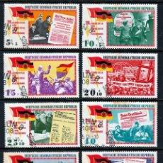 Sellos: ALEMANIA DEMOCRATICA (DDR).1965 (16-469) 20º ANIVERSARIO DE LA LIBERACION. *.MH. Lote 58185673