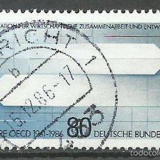 Timbres: ALEMANIA FEDERAL - 1986 - MICHEL 1294 // SCOTT 1491 - USADO. Lote 58393229