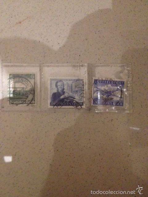 Sellos: lote 9 sellos circulados tercer reich, alemania nazi de hitler - Foto 2 - 58428898