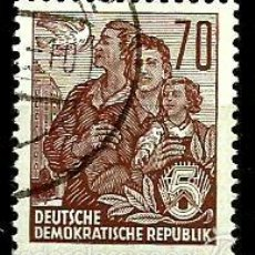 Sellos: ALEMANIA DDR 1957- YV 0322B. Lote 58689270