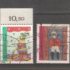 Sellos: ALEMANIA SELLOS USADOS SERIES COMPLETAS 1971. Lote 62637056