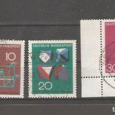 Sellos: ALEMANIA SELLOS USADOS SERIES COMPLETAS 1968. Lote 62637128
