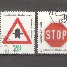 Sellos: ALEMANIA SELLOS USADOS SERIES COMPLETAS 1971. Lote 62637164