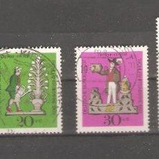 Sellos: ALEMANIA SELLOS USADOS SERIES COMPLETAS 1969. Lote 62637256