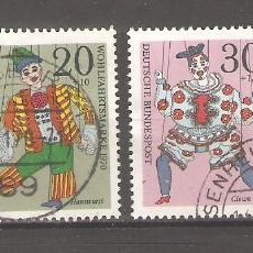 Sellos: ALEMANIA SELLOS USADOS SERIES COMPLETAS 1970. Lote 62637380