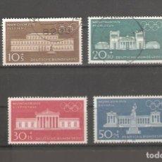 Sellos: ALEMANIA SELLOS USADOS SERIES COMPLETAS 1970. Lote 62637452