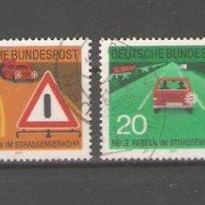 Sellos: ALEMANIA SELLOS USADOS SERIES COMPLETAS 1971. Lote 62637488