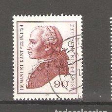 Sellos: SELLOS DE ALEMANIA FEDERAL USADOS 1974. Lote 63491720