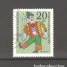 Sellos: SELLOS DE ALEMANIA FEDERAL USADOS 1970. Lote 63492048
