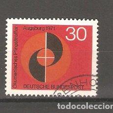 Sellos: SELLOS DE ALEMANIA FEDERAL USADOS 1971. Lote 63493020