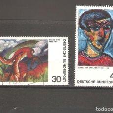 Sellos: SELLOS DE ALEMANIA FEDERAL USADOS 1974. Lote 63496392