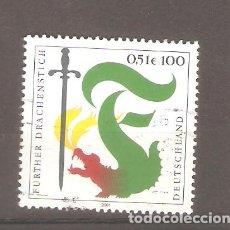 Sellos: SELLOS ALEMANIA FEDERAL 24/10 AÑO 2001. Lote 63693295