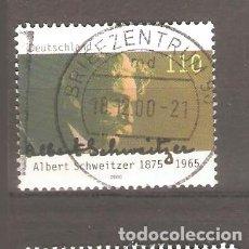 Sellos: SELLOS ALEMANIA FEDERAL 24/10 AÑO 2000. Lote 63694059