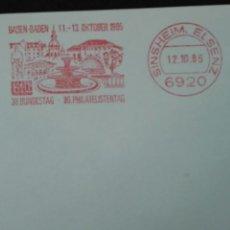Briefmarken - Carta alemana prefranqueada - 64536065