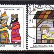 Francobolli: ALEMANIA FEDERAL.- CATÁLOGO YVERT Nº 1791/92, EN USADOS. Lote 65859874
