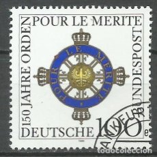 Timbres: ALEMANIA - 1992 - MICHEL 1613 // SCOTT 1746 - USADO. Lote 66894994