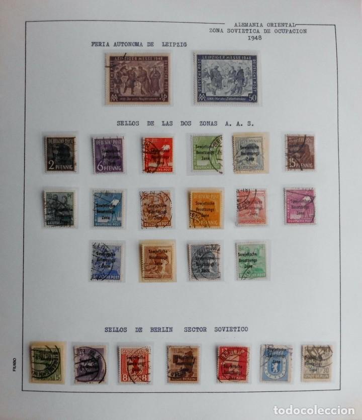 Sellos: COLECCIÓN ALEMANIA ORIENTAL 1948 A 1972, 1973 A 1981 BERLIN, OCCIDENTAL, ALBUM DE SELLOS - Foto 3 - 67324821