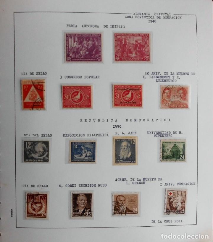 Sellos: COLECCIÓN ALEMANIA ORIENTAL 1948 A 1972, 1973 A 1981 BERLIN, OCCIDENTAL, ALBUM DE SELLOS - Foto 4 - 67324821