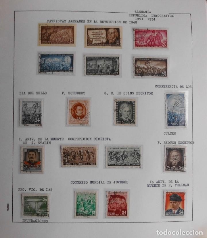 Sellos: COLECCIÓN ALEMANIA ORIENTAL 1948 A 1972, 1973 A 1981 BERLIN, OCCIDENTAL, ALBUM DE SELLOS - Foto 5 - 67324821