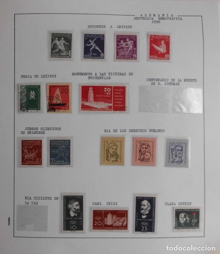 Sellos: COLECCIÓN ALEMANIA ORIENTAL 1948 A 1972, 1973 A 1981 BERLIN, OCCIDENTAL, ALBUM DE SELLOS - Foto 8 - 67324821