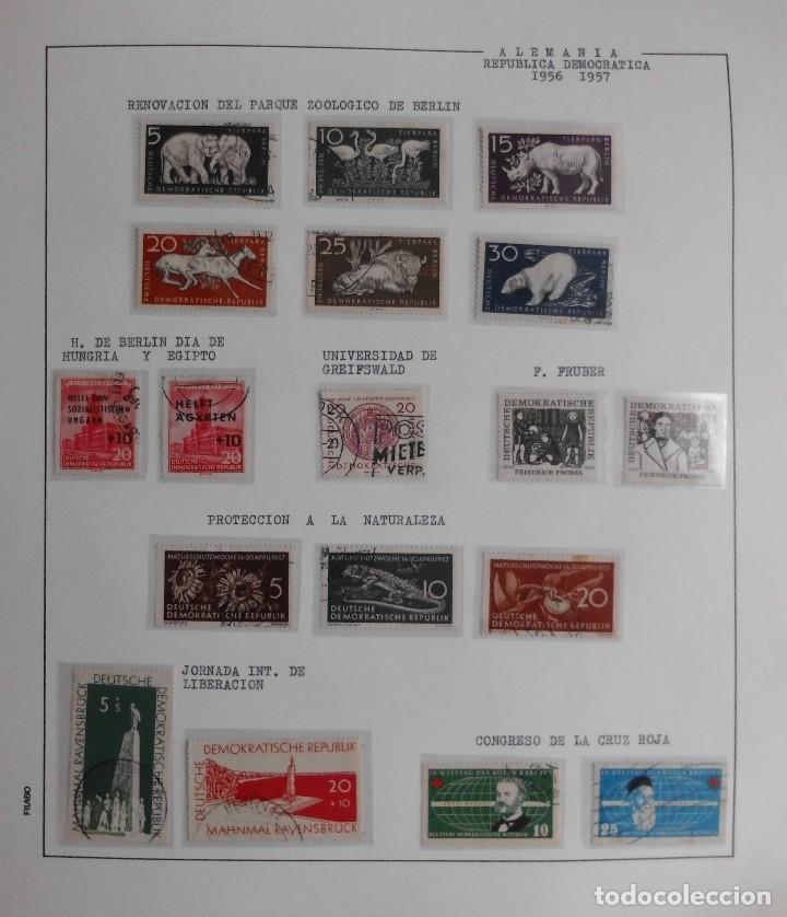 Sellos: COLECCIÓN ALEMANIA ORIENTAL 1948 A 1972, 1973 A 1981 BERLIN, OCCIDENTAL, ALBUM DE SELLOS - Foto 9 - 67324821