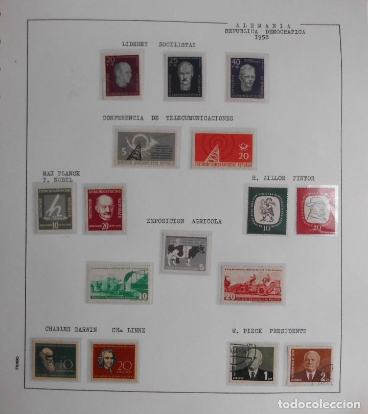 Sellos: COLECCIÓN ALEMANIA ORIENTAL 1948 A 1972, 1973 A 1981 BERLIN, OCCIDENTAL, ALBUM DE SELLOS - Foto 11 - 67324821