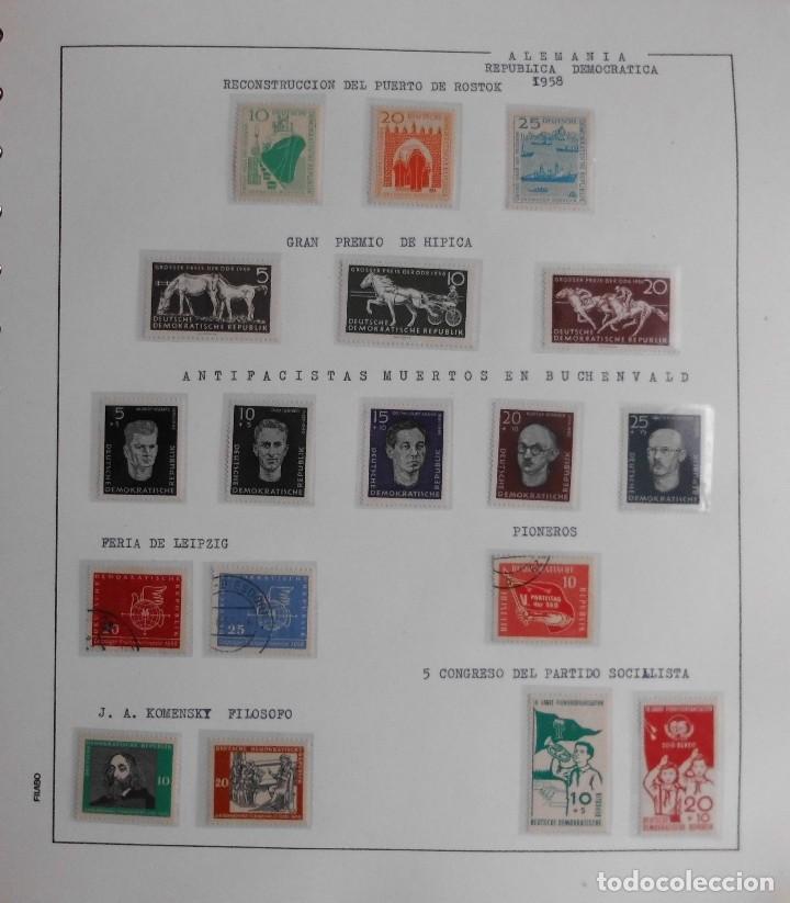 Sellos: COLECCIÓN ALEMANIA ORIENTAL 1948 A 1972, 1973 A 1981 BERLIN, OCCIDENTAL, ALBUM DE SELLOS - Foto 12 - 67324821
