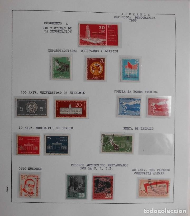 Sellos: COLECCIÓN ALEMANIA ORIENTAL 1948 A 1972, 1973 A 1981 BERLIN, OCCIDENTAL, ALBUM DE SELLOS - Foto 13 - 67324821
