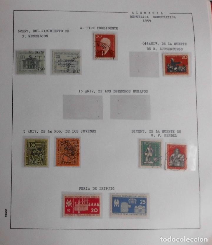 Sellos: COLECCIÓN ALEMANIA ORIENTAL 1948 A 1972, 1973 A 1981 BERLIN, OCCIDENTAL, ALBUM DE SELLOS - Foto 14 - 67324821