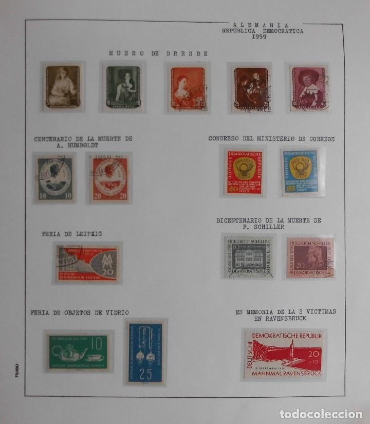 Sellos: COLECCIÓN ALEMANIA ORIENTAL 1948 A 1972, 1973 A 1981 BERLIN, OCCIDENTAL, ALBUM DE SELLOS - Foto 15 - 67324821