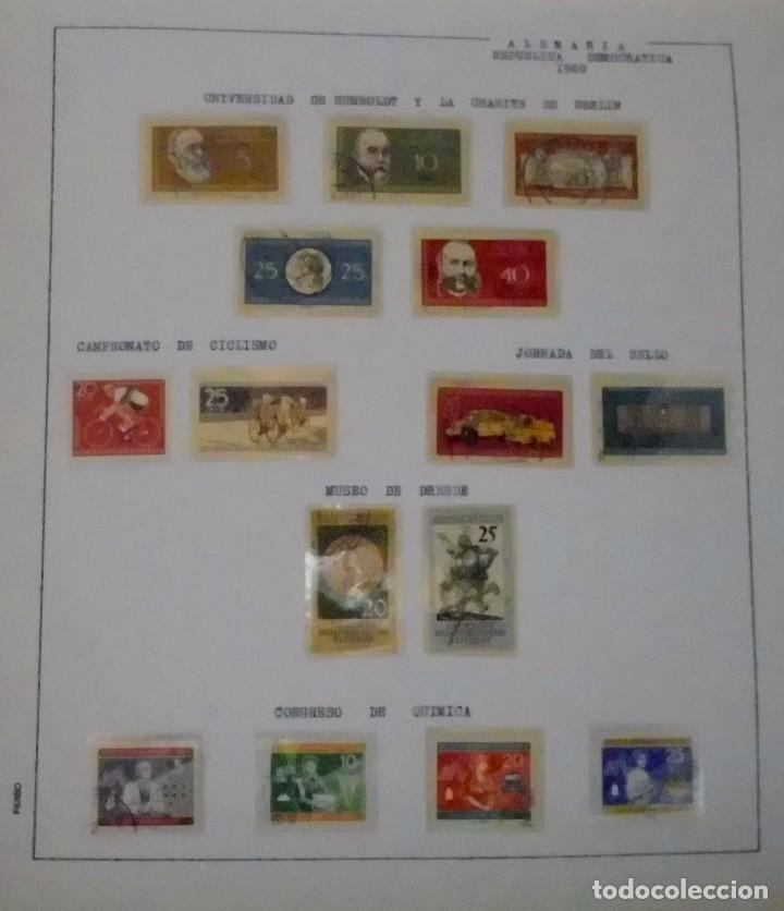 Sellos: COLECCIÓN ALEMANIA ORIENTAL 1948 A 1972, 1973 A 1981 BERLIN, OCCIDENTAL, ALBUM DE SELLOS - Foto 16 - 67324821