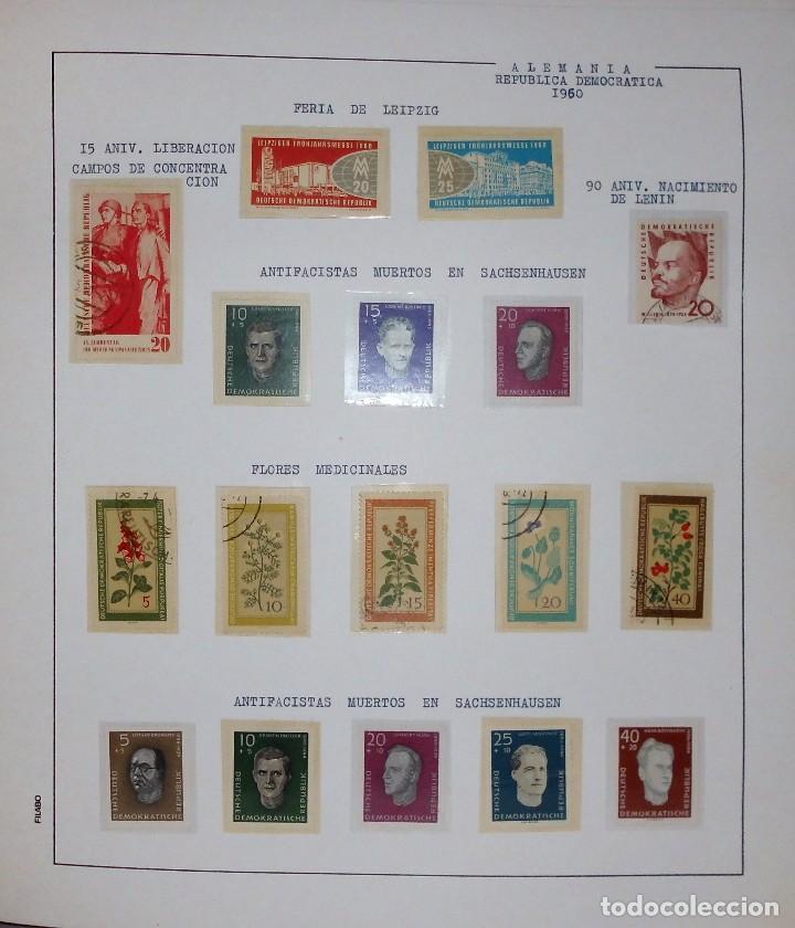 Sellos: COLECCIÓN ALEMANIA ORIENTAL 1948 A 1972, 1973 A 1981 BERLIN, OCCIDENTAL, ALBUM DE SELLOS - Foto 17 - 67324821