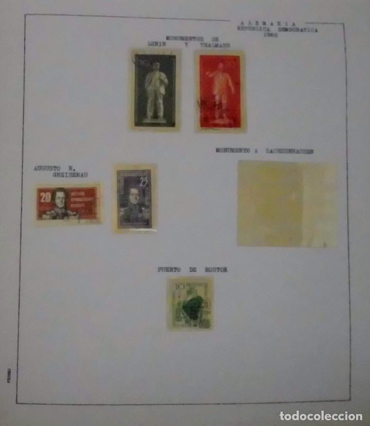 Sellos: COLECCIÓN ALEMANIA ORIENTAL 1948 A 1972, 1973 A 1981 BERLIN, OCCIDENTAL, ALBUM DE SELLOS - Foto 19 - 67324821